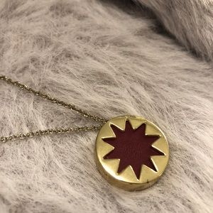 House of Harlow Mini Sunburst Necklace